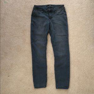 Dark Gray Skinny Jeans - 1822 Denim